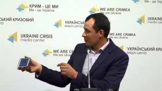 Barrier-free Kyiv Program. Ukraine Crisis Media Center, 28th Of April 2015