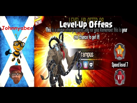 Monster Legends Level Up Offers