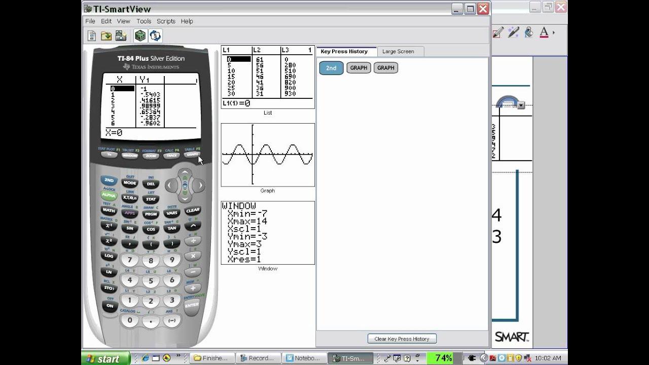 7 SMART Notebook Math Tools - Launch Texas Instruments