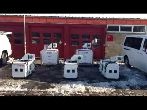 5 lidars in sync - the first multiple lidar system in the world