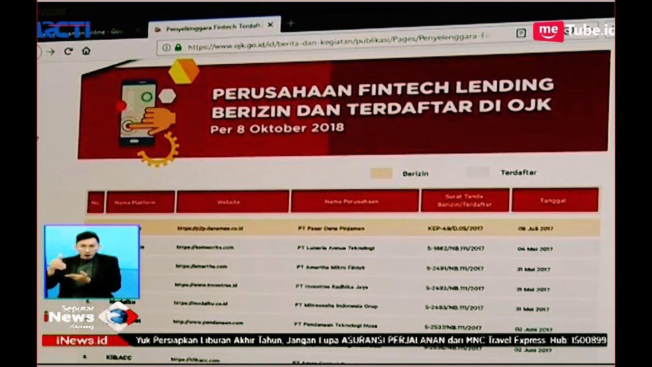 Waspada Setan Kredit Hanya 73 Perusahaan Pinjaman Online