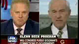 Ron Paul 7-18-2009 Corrupt Government , Planning A World Currency
