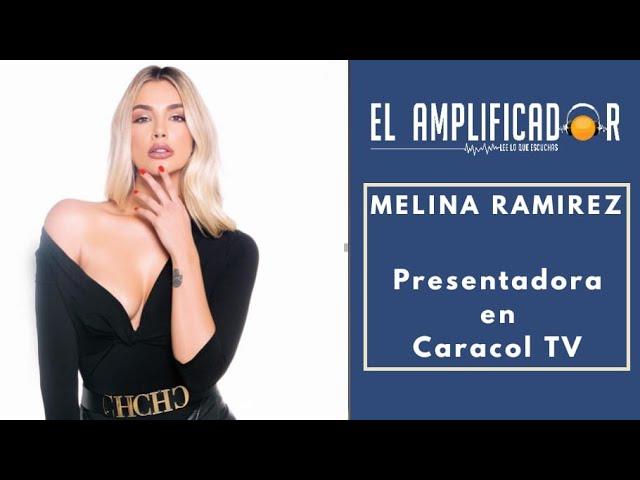 MELINA RAMIREZ  ES LA NUEVA PRESENTADORA DE YO ME LLAMO - CANAL CARACOL [ EL AMPLIFICADOR ]