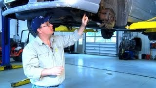 Tire Bumps on a Sharp Turn : Under the Car Repairs