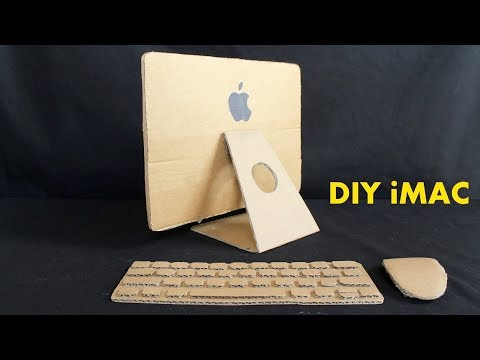How to Make a Apple iMac With Cardboard - DIY iMac