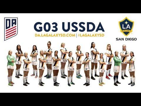 LAGSD GU15 Academy v San Jose Earthquakes