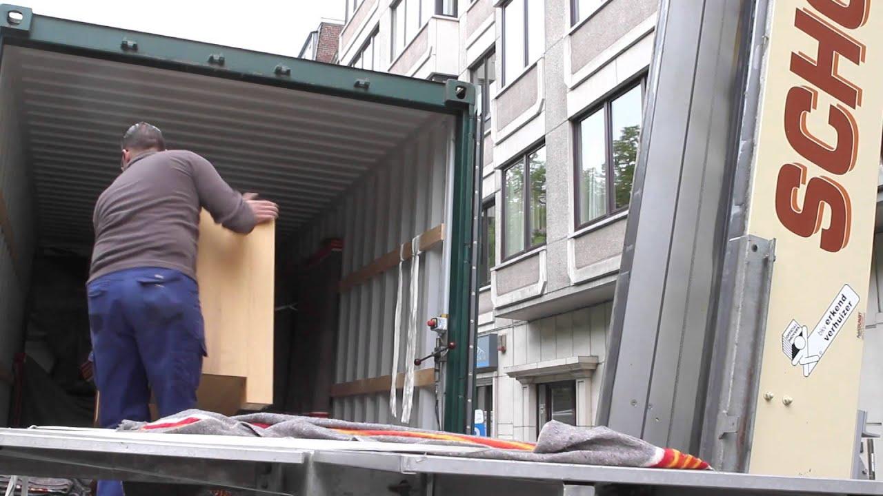schollaert opslagruimte voor meubelen youtube