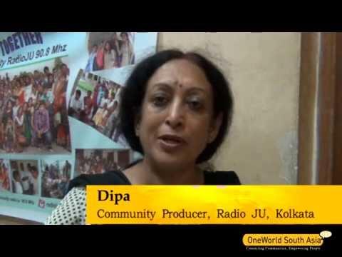 Dipa speaks about Radio Mathematics, Radio JU, Kolkata