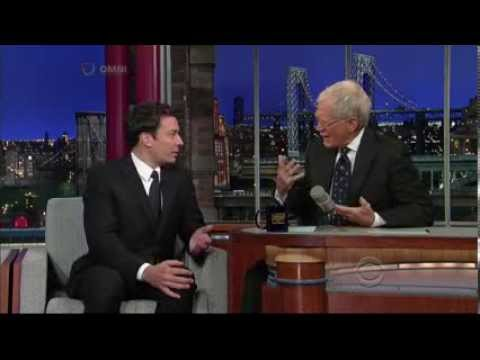 Jimmy Fallon Letterman 2012 09 27 HQ