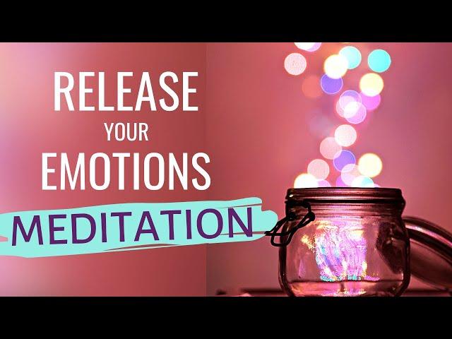 Meditation to Release Stuck Emotions (EMOTIONAL RELEASE MEDITATION) Anxiety Meditation Female Voice