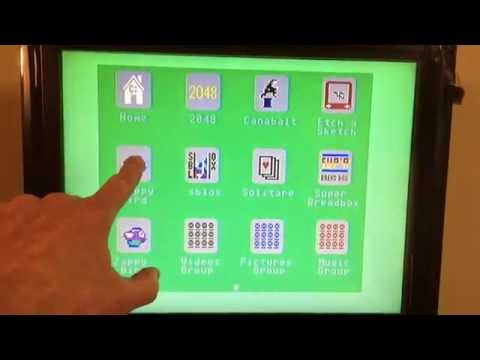 cOS on commodore 64. Modern user interface with optional touchscreen.
