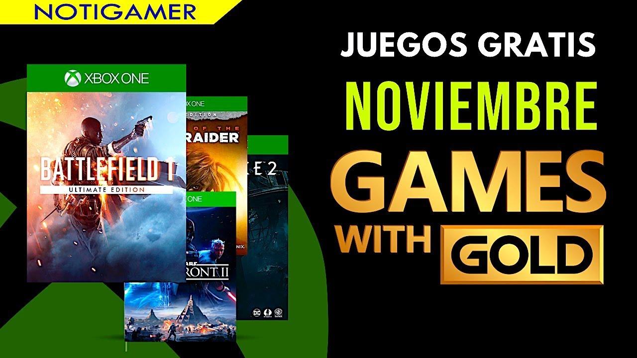 Juegos Gratis Con Gold Noviembre 2018 Games With Gold Notigamer
