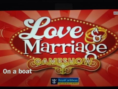 Love and Marriage Game Show 2015 Enchantment of the Seas