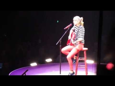 Taylor Swift - Enchanted (The Red Tour) Louisville 05-07-13