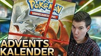 Wir öffnen den NEUEN Pokemon Adventskalender 🎄
