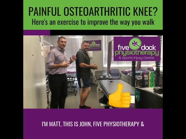 Knee OA affecting the way you walk?
