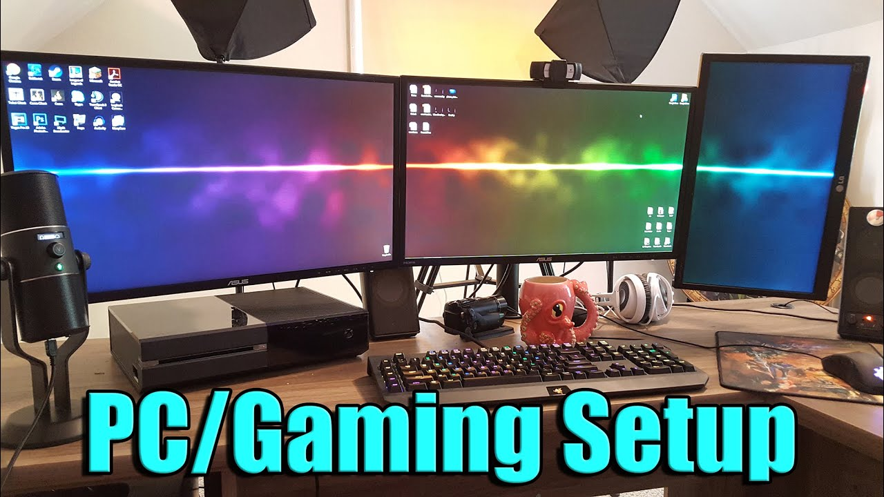 Pc Gaming Setup And Office Tour July 2015 Tradechat