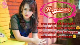 Viral happy asmara konco Uripku