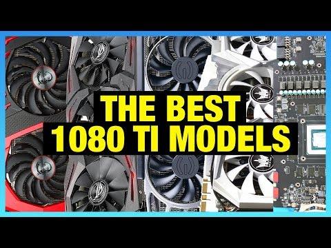 Awards: Best 1080 Tis of 2017 (ASUS vs. EVGA, MSI & More)