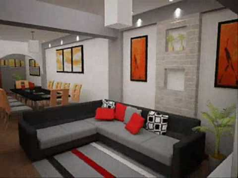 Dise o interior stands modulos youtube - Decoracion de interiores salas ...