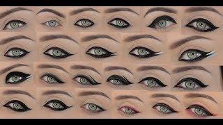 23 Different Eyeliner Styles