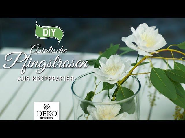 Deko Kitchen U2013 Schone Deko Selber Machen Esther Straub Diy: Fruhlingsdeko  Mit Asiatischen Pfingstrosen Aus