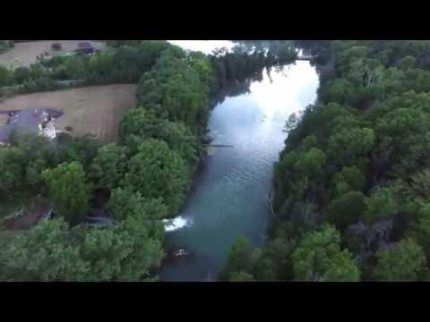 Lake Gibson & Lake Moodie Flyover, St. Catharines, Ontario - DJI Phantom 3