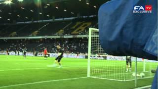 England 2-1 Italy - Adam Johnson's Amazing Warm Up Goal | FATV