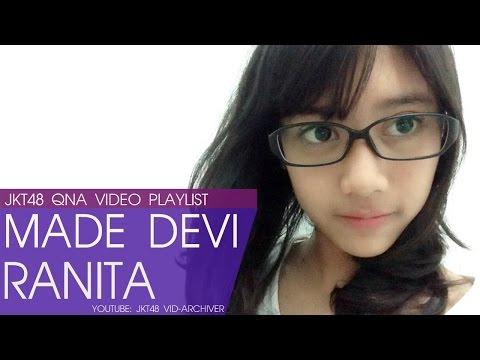 Kompilasi Video Tanya Jawab Devi JKT48 (@DeviR_JKT48) #SatNitewithDevi
