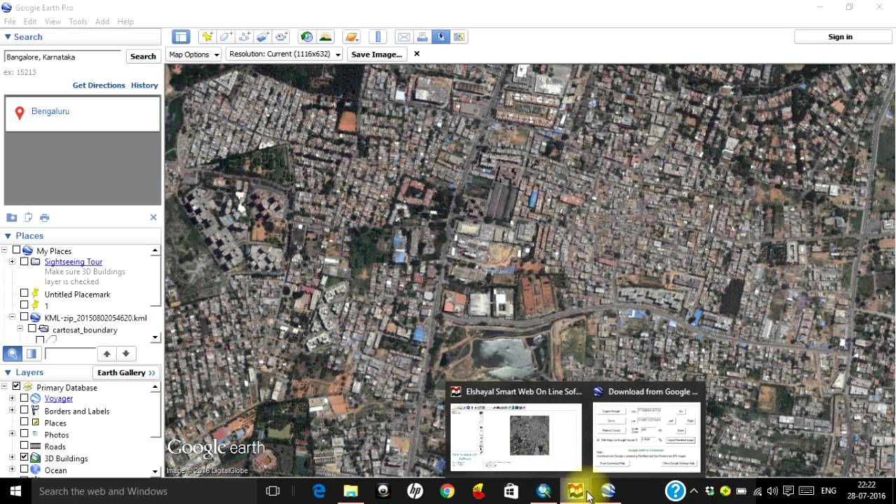 Download Very High Resolution Georeferenced Satellite Image YouTube - Current google maps satellite
