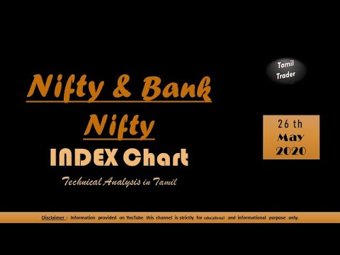 Daily BankNifty & Nifty's Index Analysis In Tamil 26/05/2020