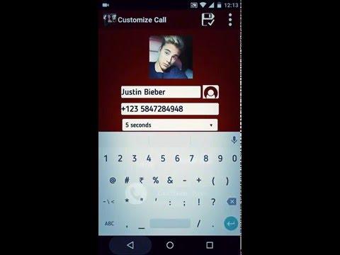 Justin Bieber's Prank Call via Fake Call Prank HD