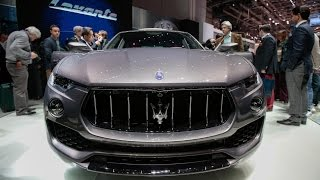 Maserati CEO: Levante SUV Offers Best of Both Worlds