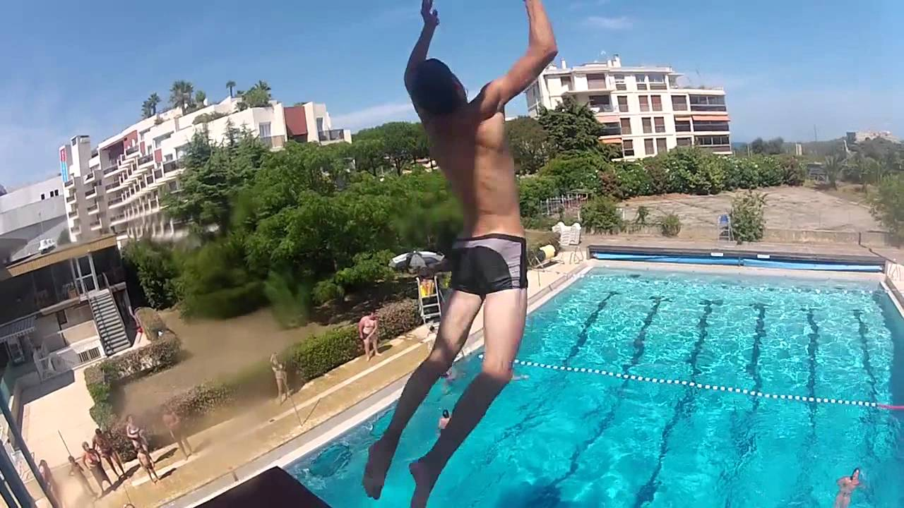 Frheaven piscine antibes with go pro youtube for A la piscine translation