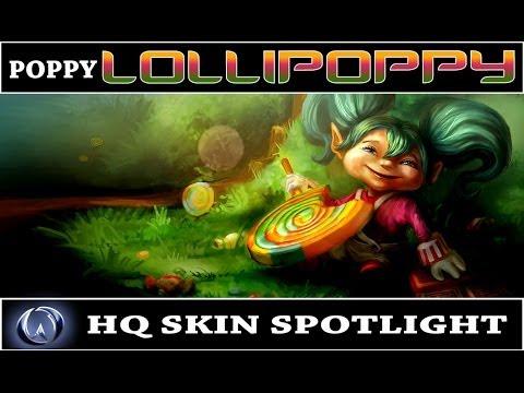 League of Legends: Lollipoppy (HQ Skin Spotlight)