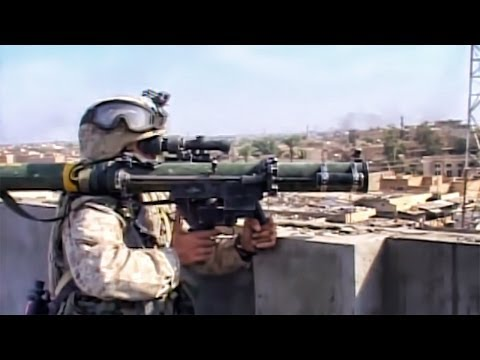 Rocket Fire In Fallujah - Marines In The Iraq War