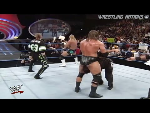 DX Destroy Shane McMahon Infront of his Father |