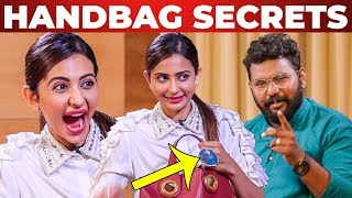 """I Can't Live Without…."" Rakul Preet Singh Handbag Secrets Revealed 