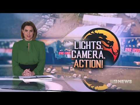 Mortal Kombat Movie Starts Filming - 9News Adelaide Sept 15th, 2019