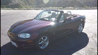 Is A 2000 Miata Underpowered? - One Take