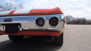 1971 chevelle malibu SS convertible huggar orange for sale at www coyoteclassics com
