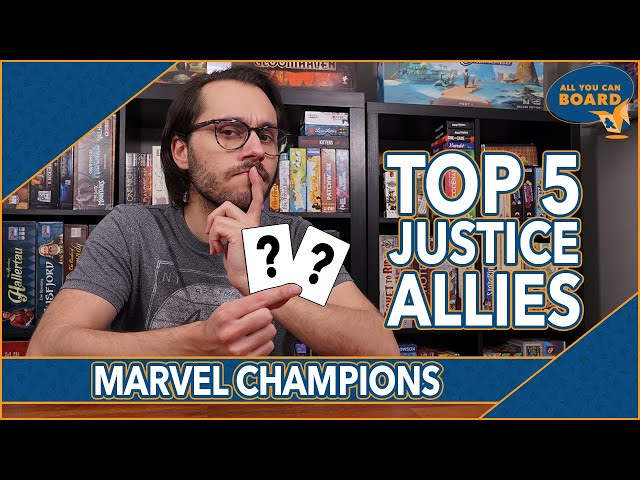 My TOP 5 Justice Allies | Marvel Champions