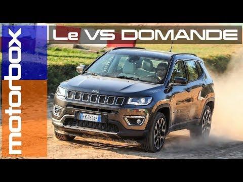 Nuova Jeep Compass 2017 | Le vostre domande