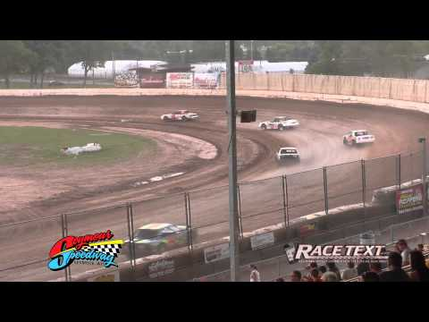 Seymour Speedway - August 3, 2014 - Stock Car feature