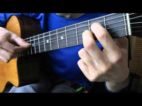 Cours de guitare - The Red Hot Chili Peppers : Road Trippin'  (5/7) Riff C, les arpèges