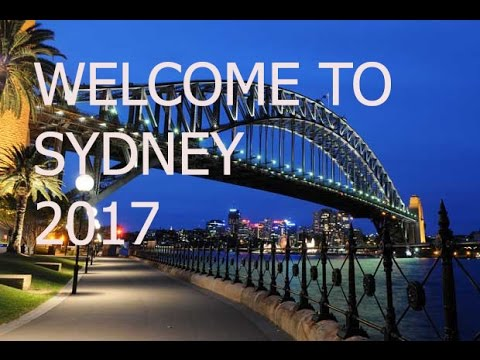 Welcome to Sydney 2017
