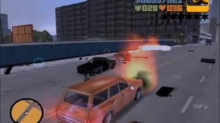 HIGHLIGHT REEL - GTA 3 - Pedestrian riot playthrough
