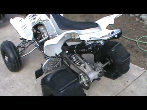 2007 Raptor 700r GYTR Edition With Barker Dual Exhaust Clip