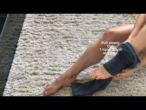 How to Put on Caliloko Oceanside Recovery Compression Long Tights