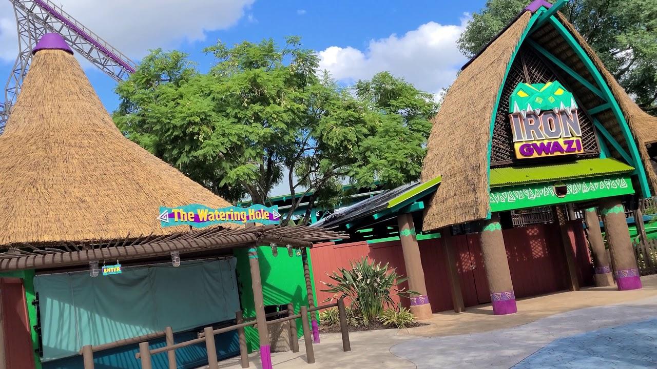 A Trip To Busch Gardens Tampa Crazy Wait Times Youtube
